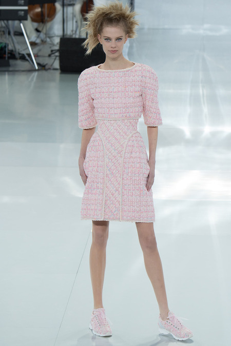 whimsical and youthful yet still haute couture chanel